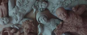clay figures by Brenna Busse