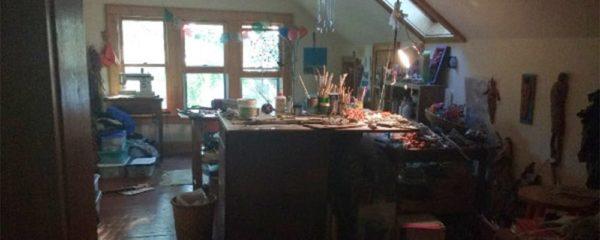 Brenna Busse's studio