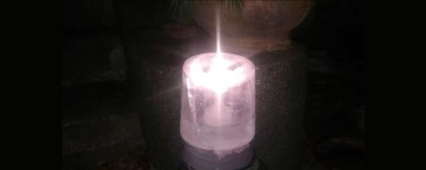 Ice Candle photo by Brenna Busse